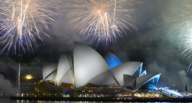 Sydney, il Capodanno