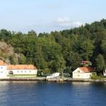 Paesaggio tra Oslo e Stoccolma