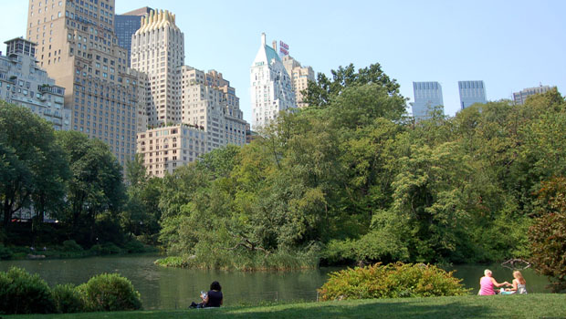 New York, Central Park.
