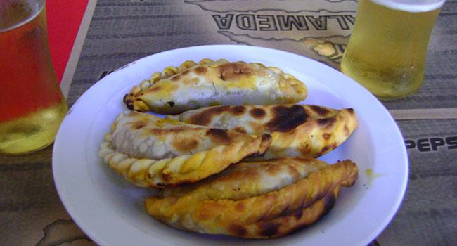 Cordova, empanadas
