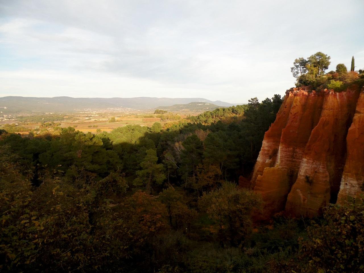 Roussillon, cave di ocra (foto F. Saracino)